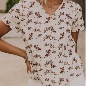 Bouverie Button Top from Roolee